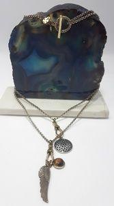 Lucky Brand Convertible Multi Pendant Necklace